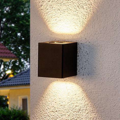 Lukas - LED-Außenwandlampe mit Dekofiltern