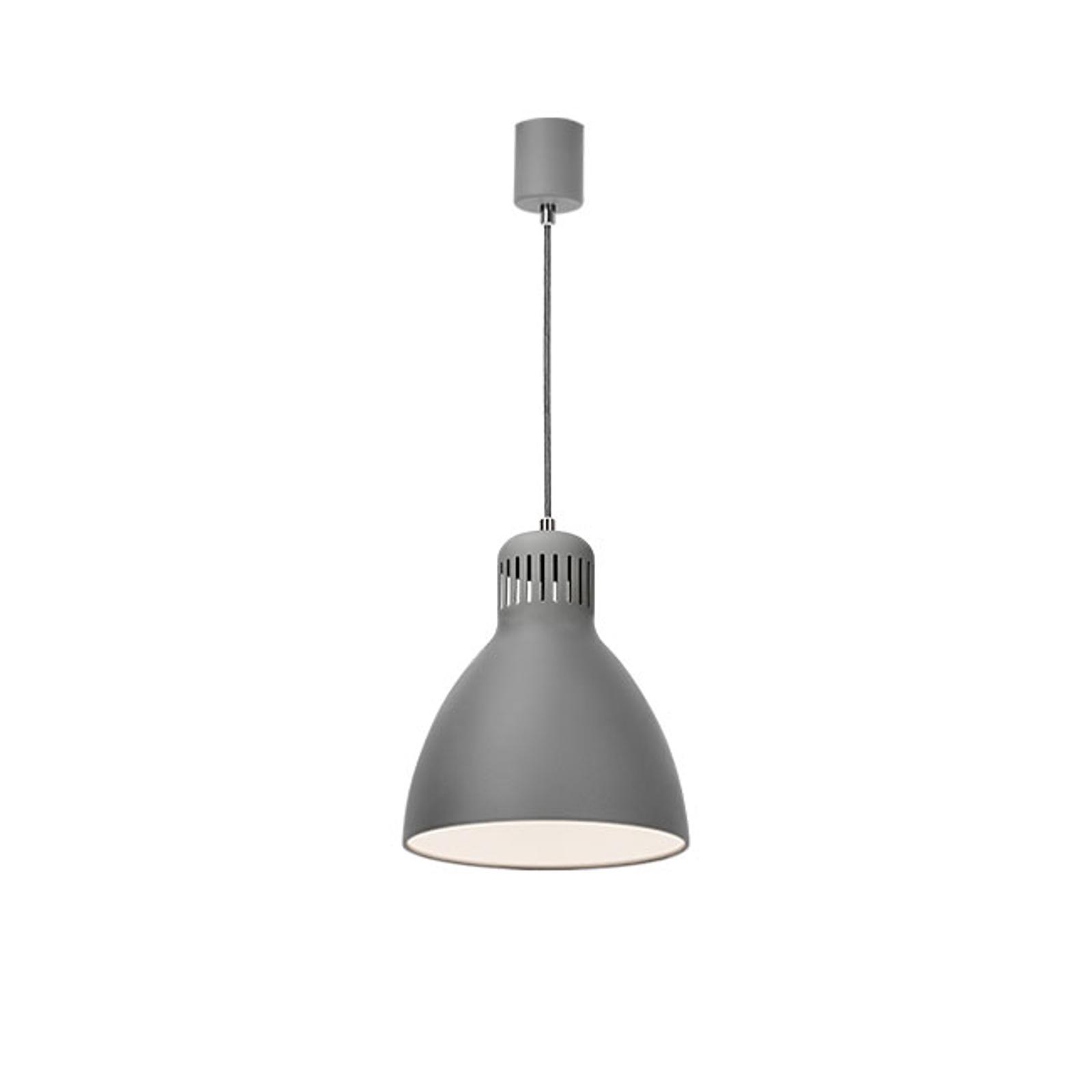 Lampa wisząca LED L-1, 4000 K, szara