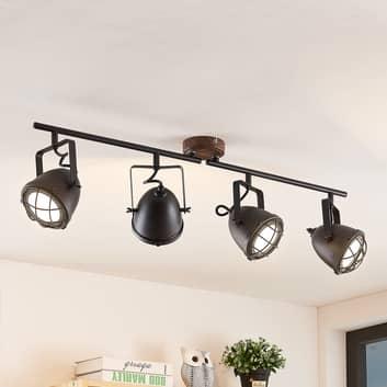 Lindby Adeon LED-taklampa, 4 lampor