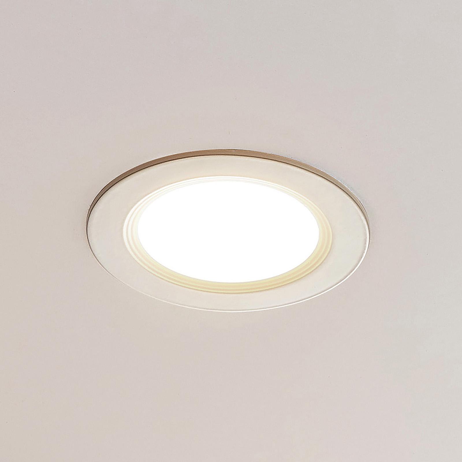ELC Pan pannello LED rotondo, 3.000 K Ø17,2cm