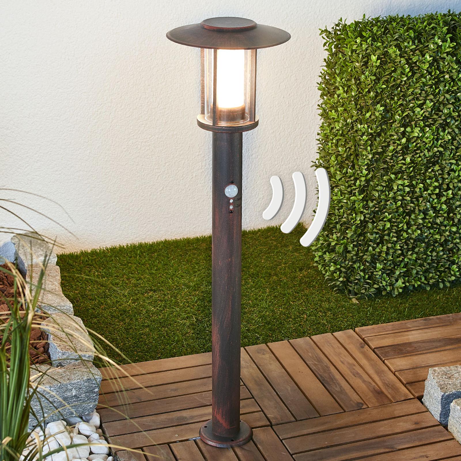 LED-pullertlampe Pavlos med sensor