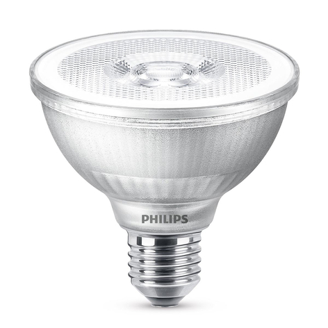 LED-Reflektor PAR30S E27 9,5W, warmweiß, dimmbar