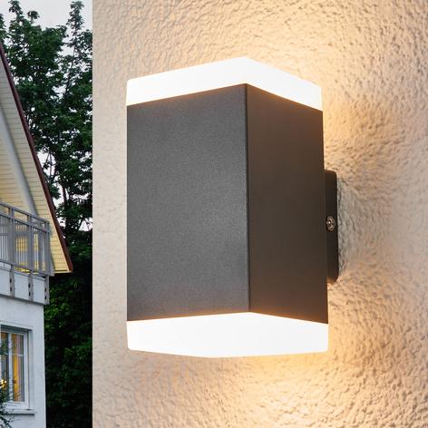 Hedda - kantige LED-Außenwandleuchte