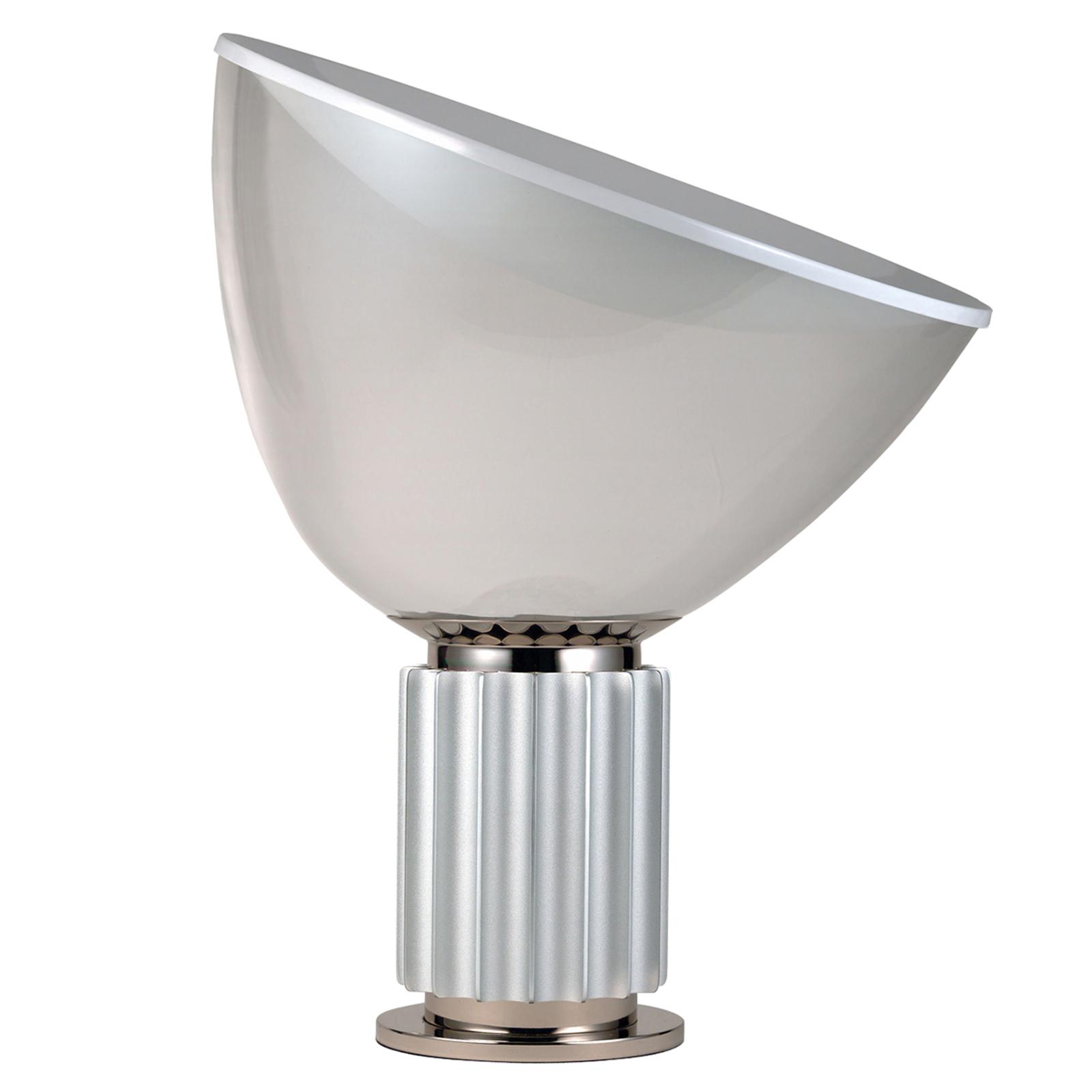 FLOS Taccia small - LED-Tischleuchte, alu