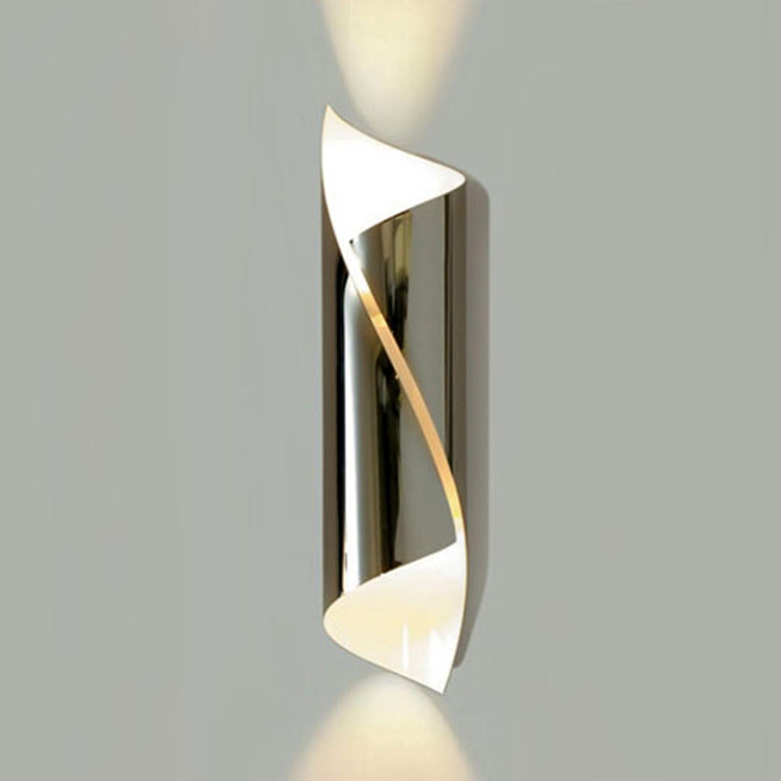 Lśniący designerski kinkiet LED Hué