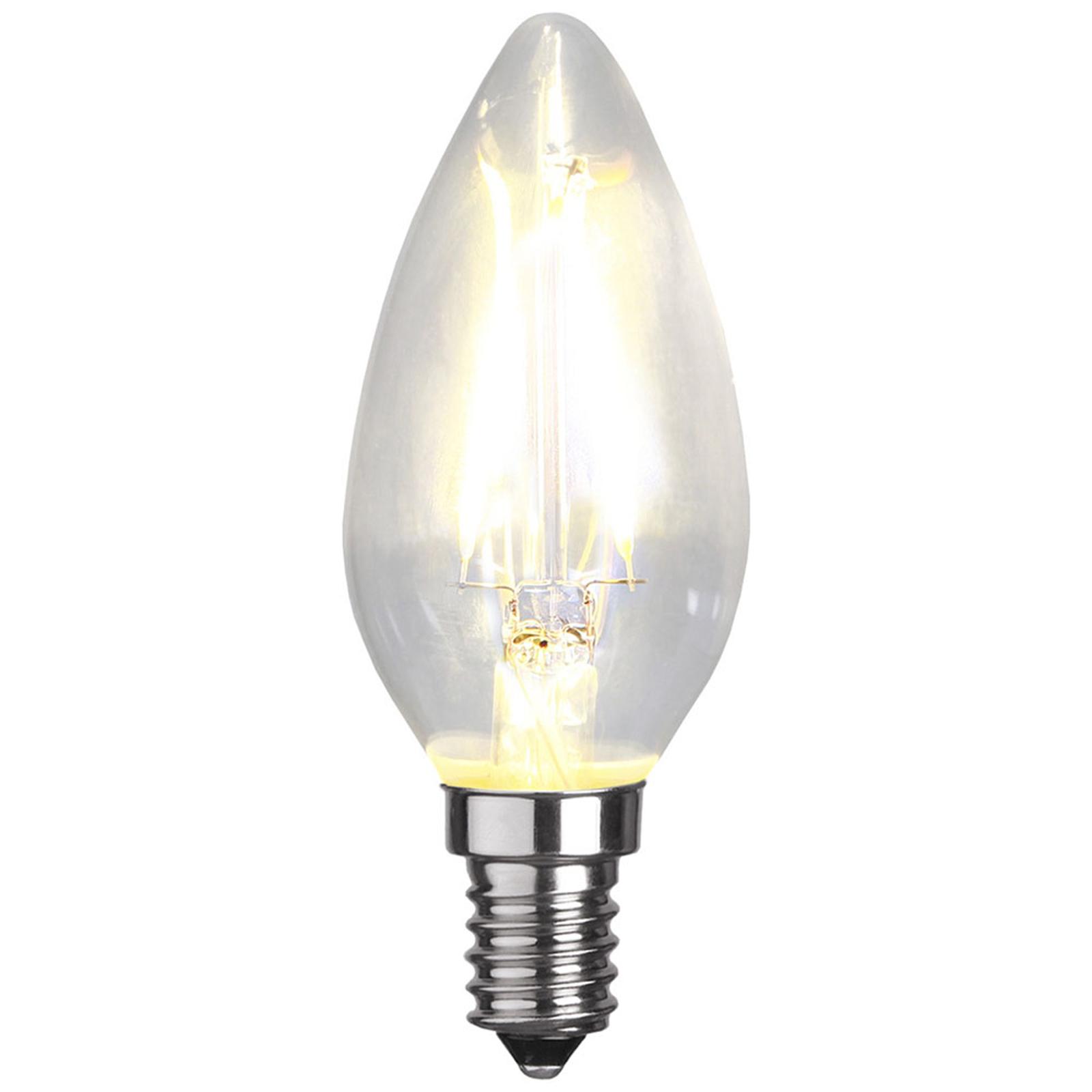LED-Kerzenlampe E14 B35 2W 2.700K Filament 150lm