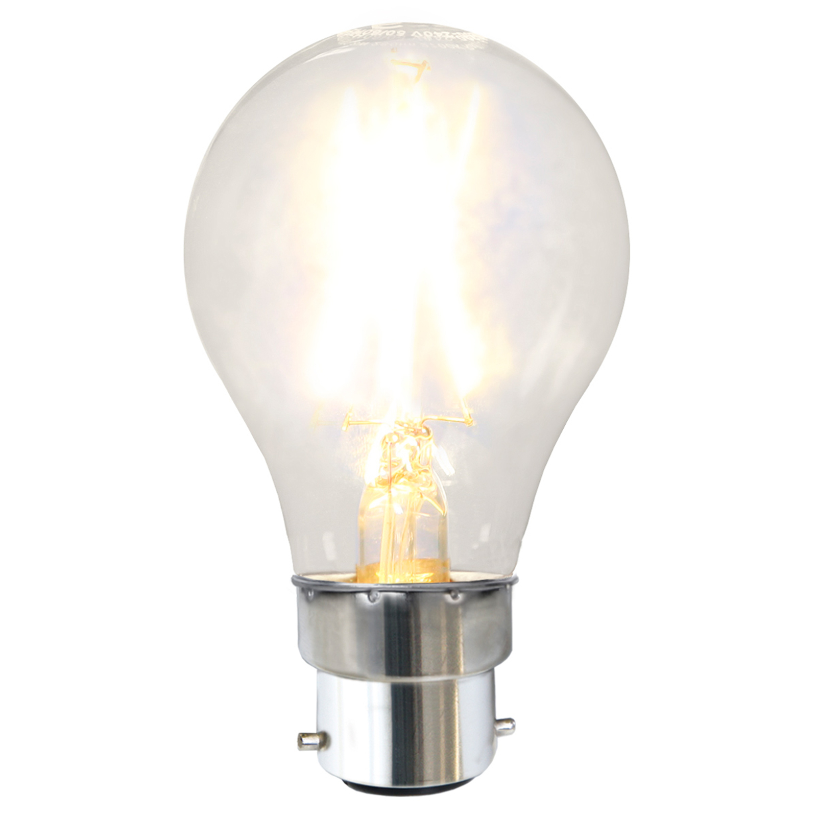Ampoule LED B22 1,6W, blanc chaud
