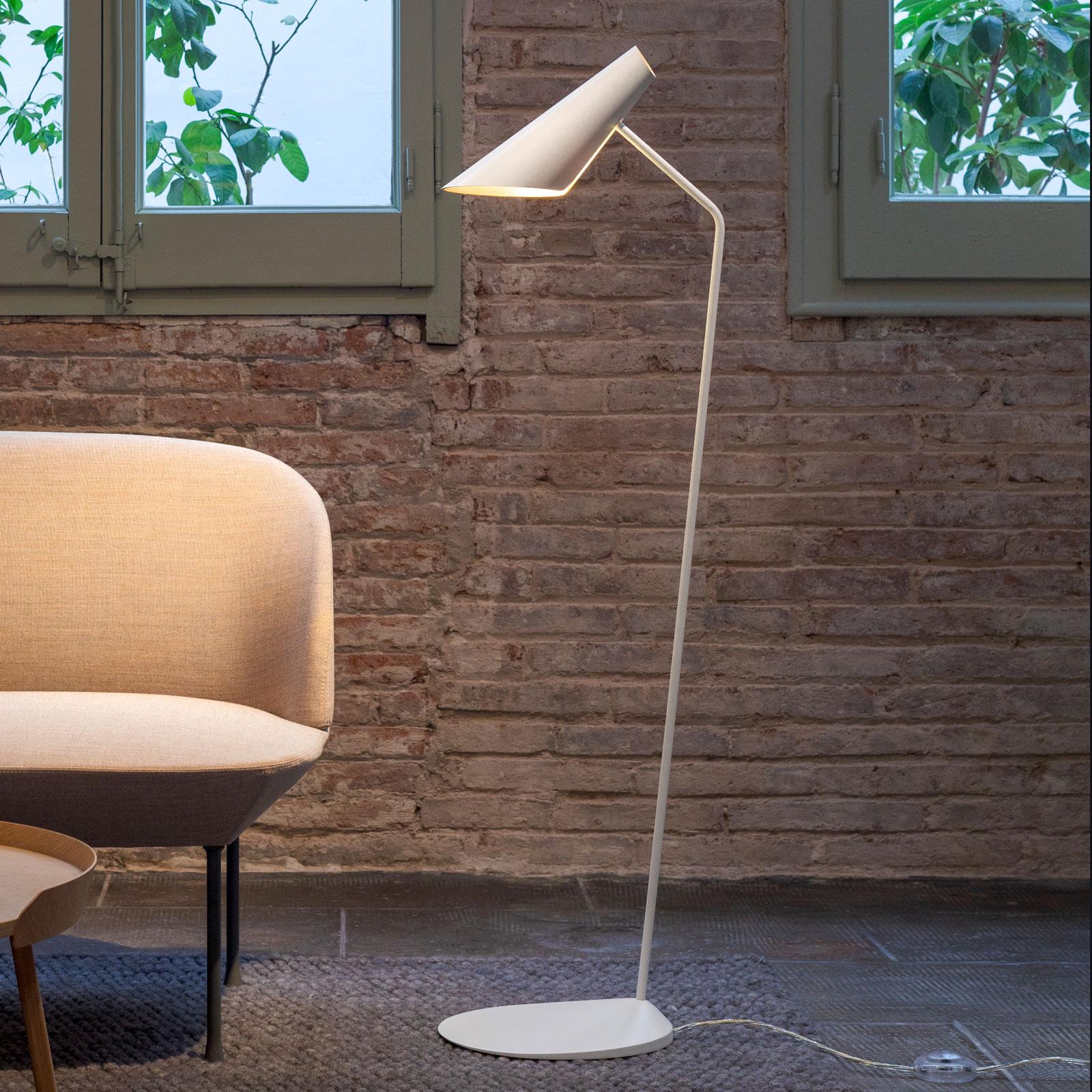 Billede af Vibia I.Cono 0712 designer-gulvlampe, hvid