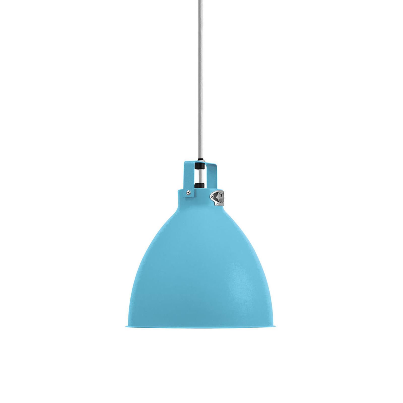 Jieldé Augustin A240 lampa wisząca jasnoniebieska