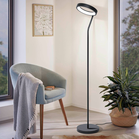EGLO connect Marghera-C lampadaire LED
