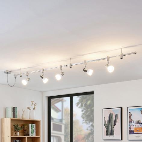 Vysokonapěťový kolejnicový LED systém Anjur, E14
