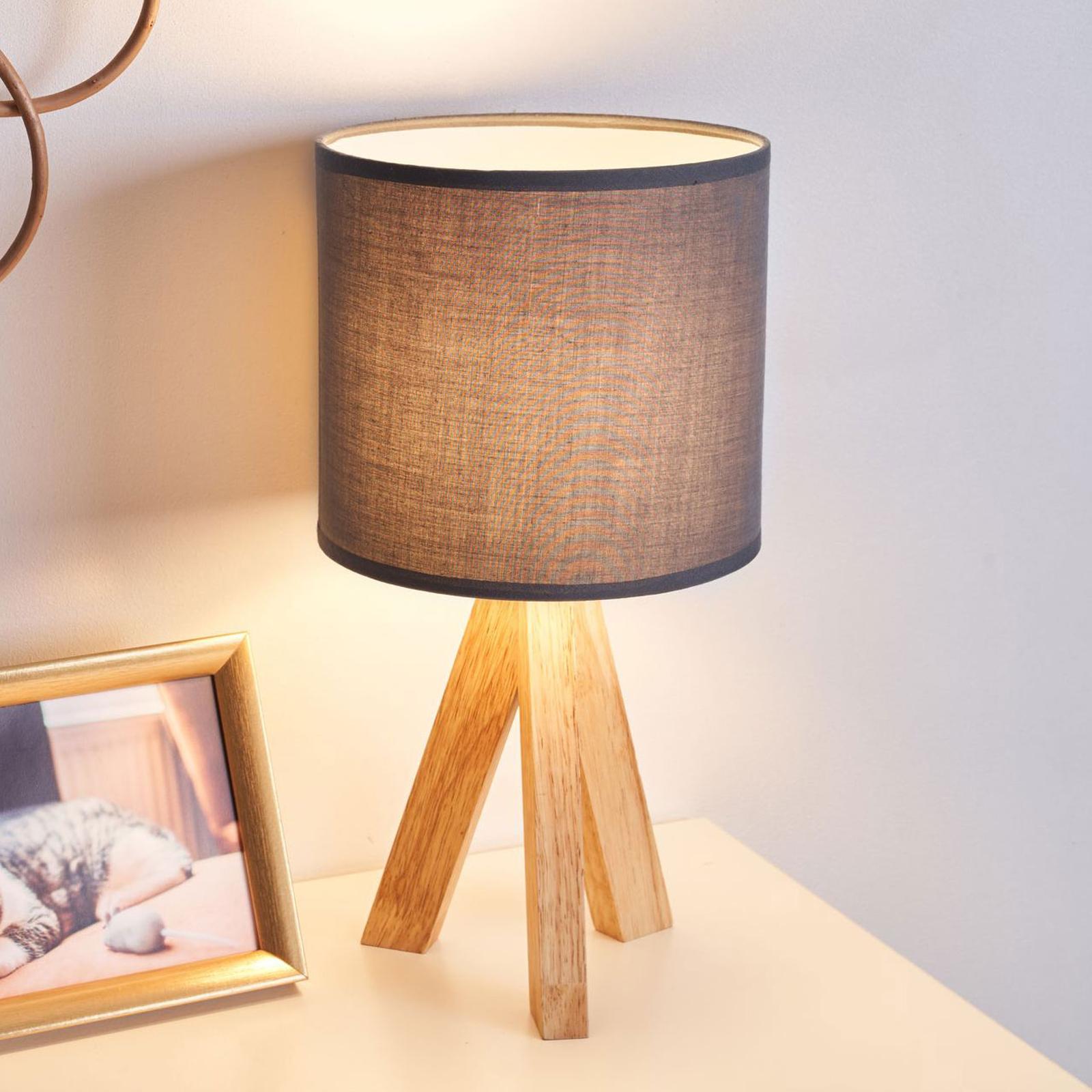 Pauleen Woody Love Tischleuchte mit Holzgestell