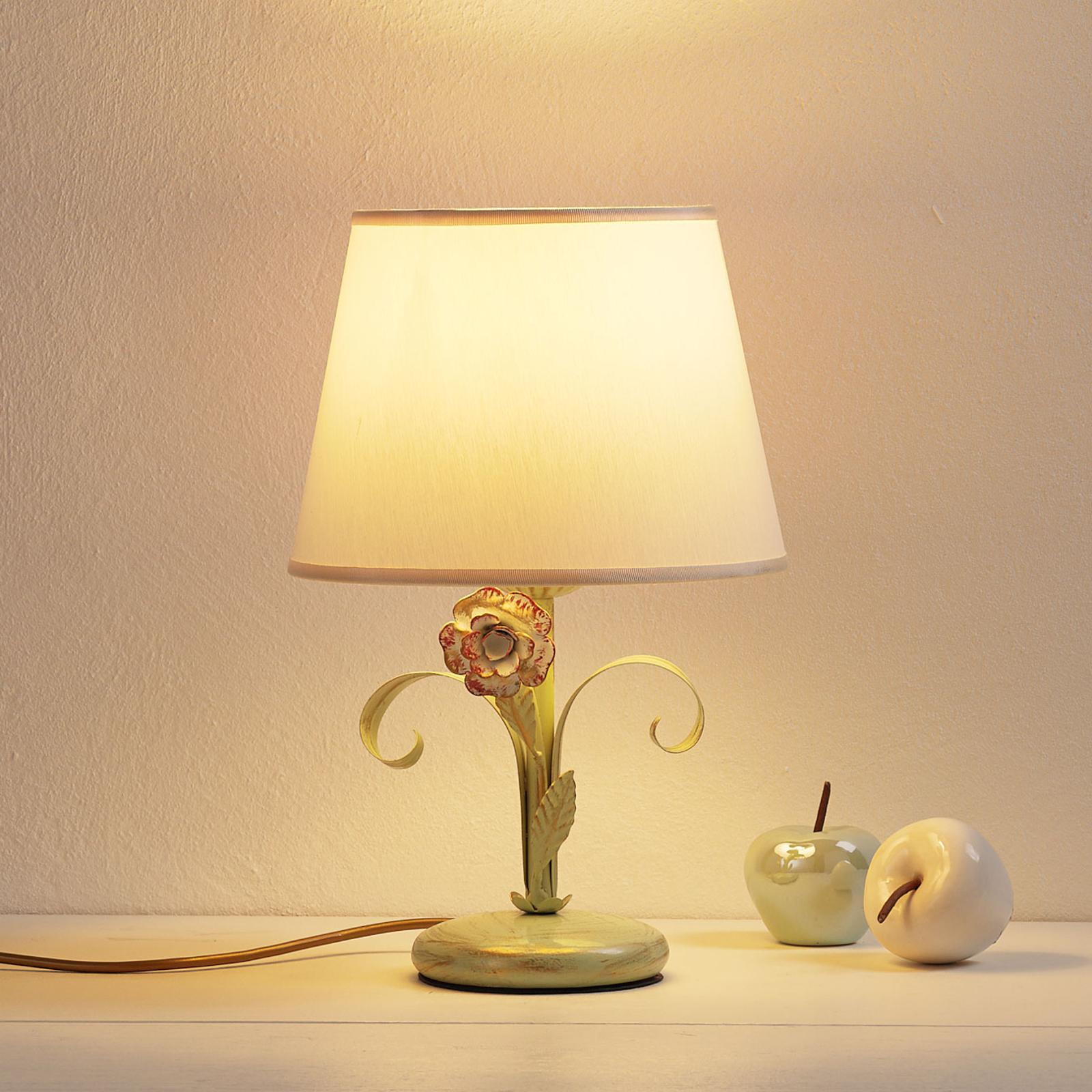 Lampada da tavolo Tulipe stile fiorentino