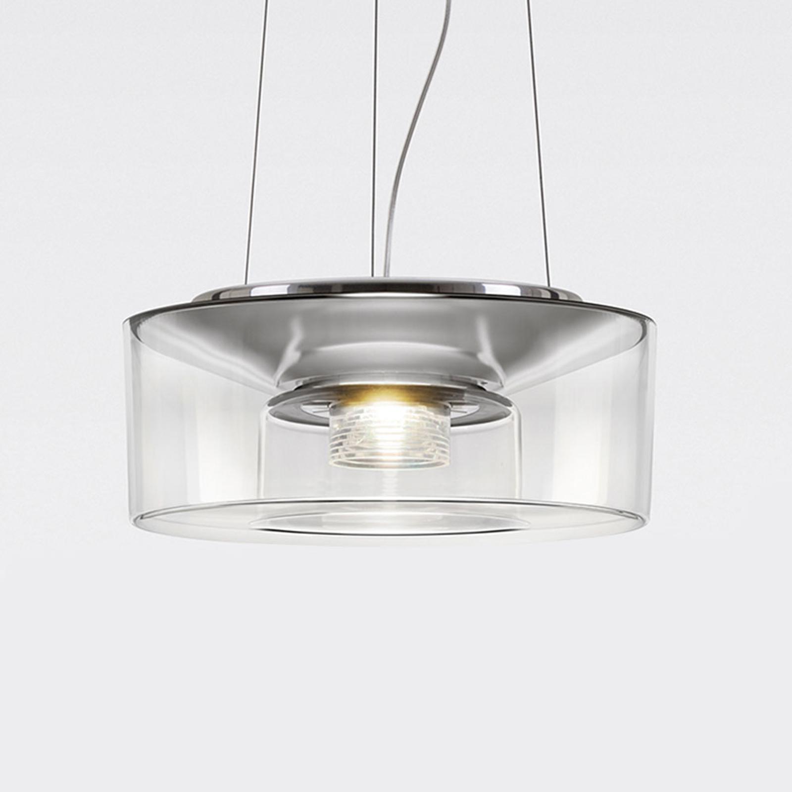 serien.lighting Curling häng 927 Triac akryl klar