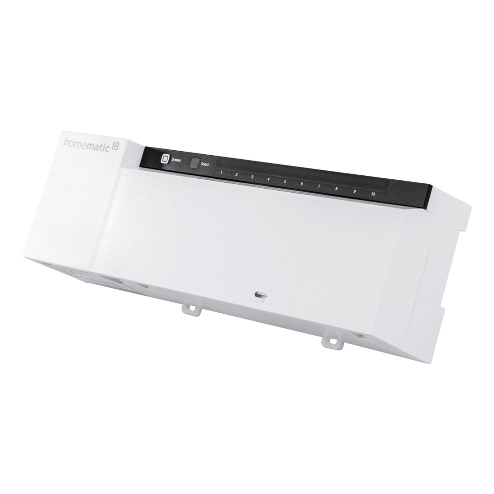 Homematic IP Fußbodenheizungsaktor, 10-fach, 24 V