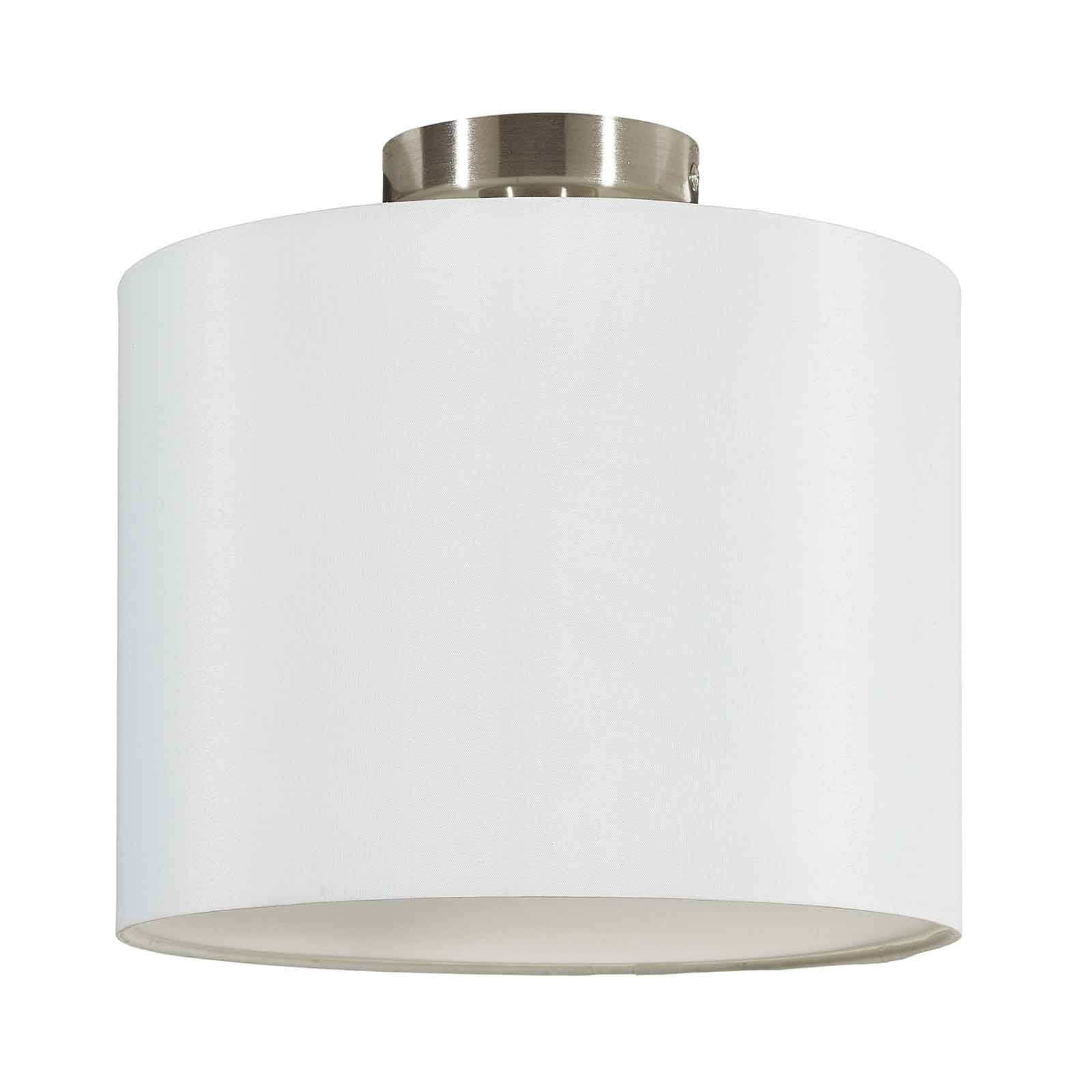 Lucande Patrik lampa sufitowa Ø30cm biała