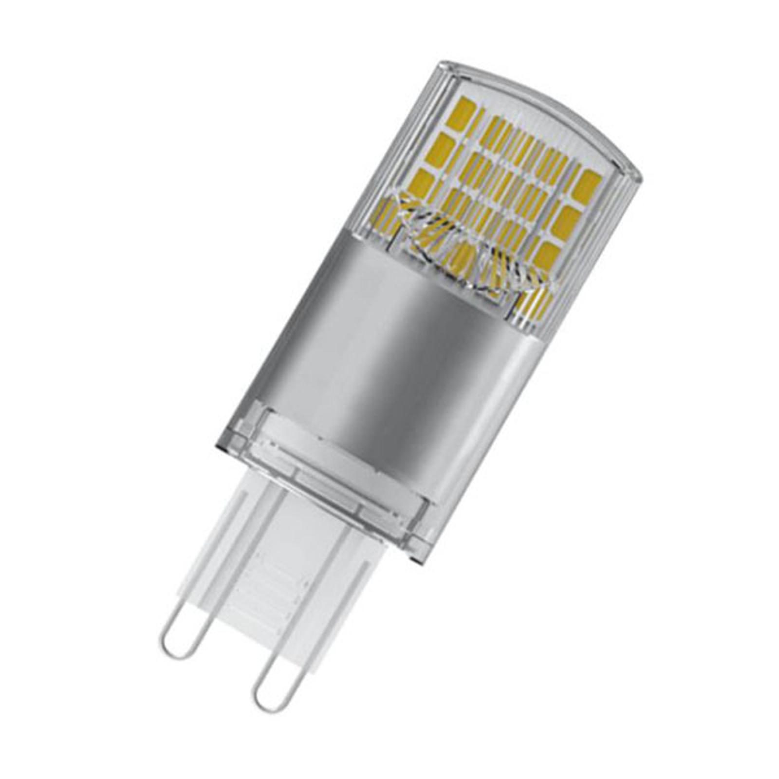 OSRAM LED-stiftpære G9 3,8 W 2700K klar 2-er