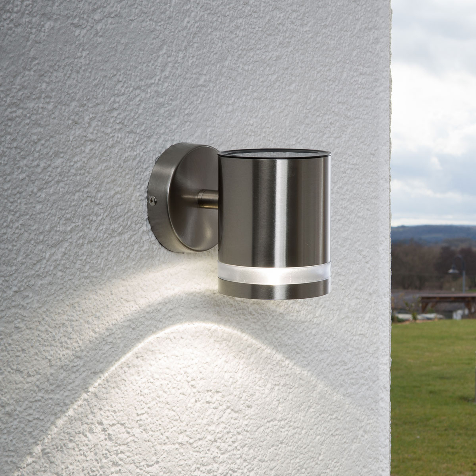 Solarwandleuchte Salma mit LED