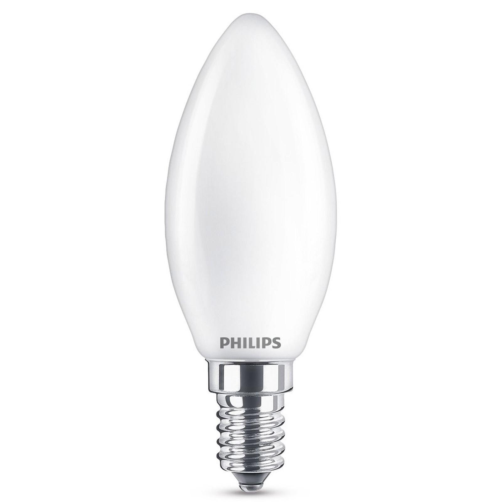 E14 2,2 W 827 żarówka świecowa LED, matowa