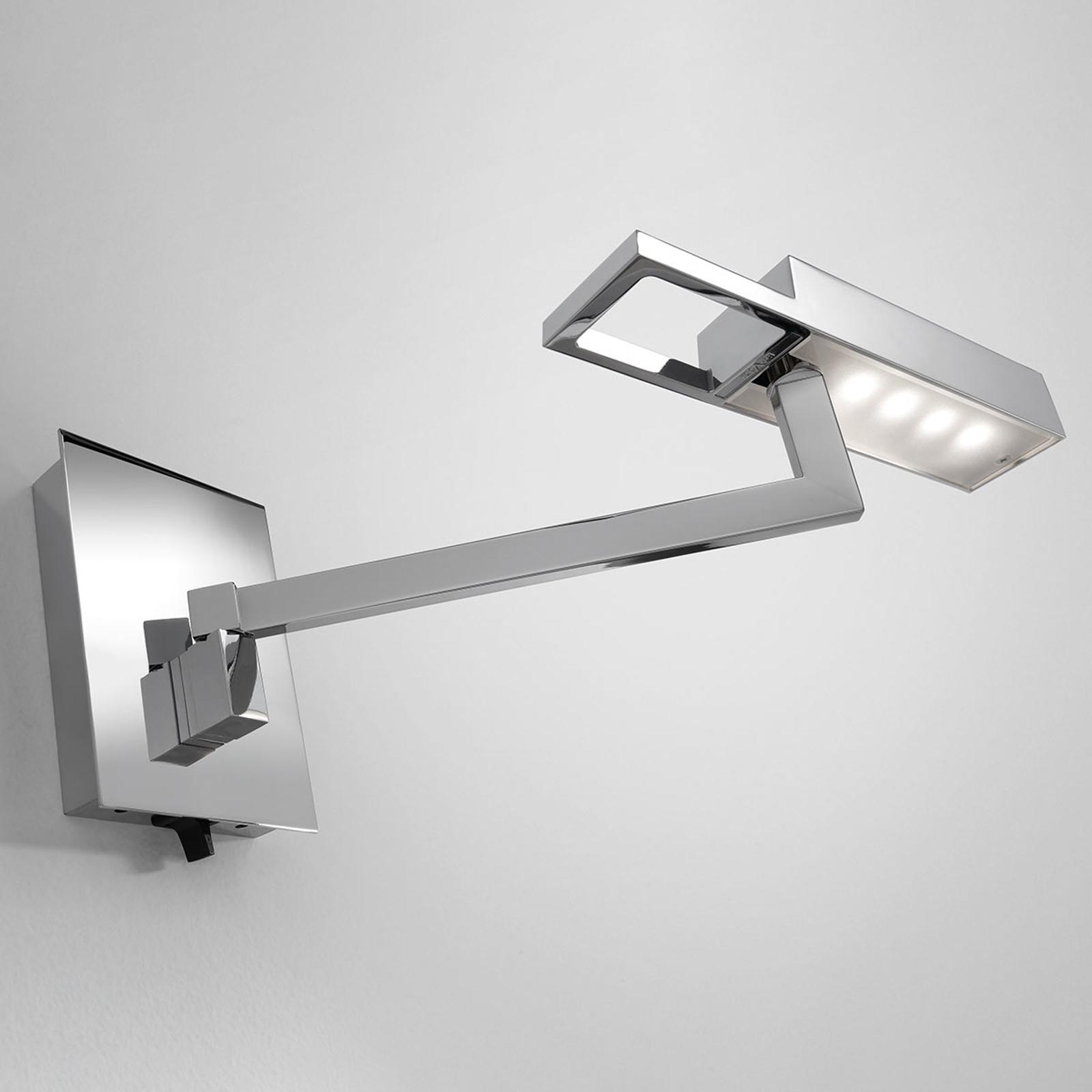 Bover Spock A - applique LED, chromée