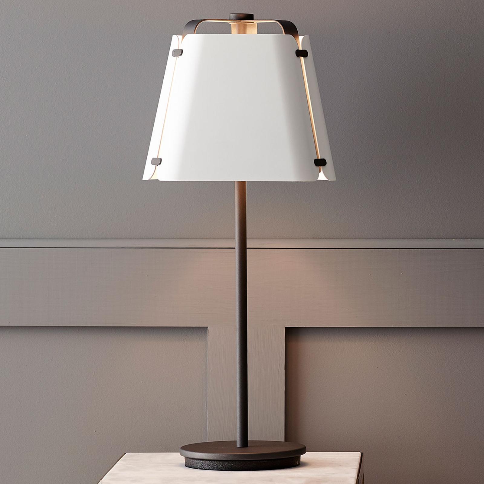 Fold bordlampe, metal