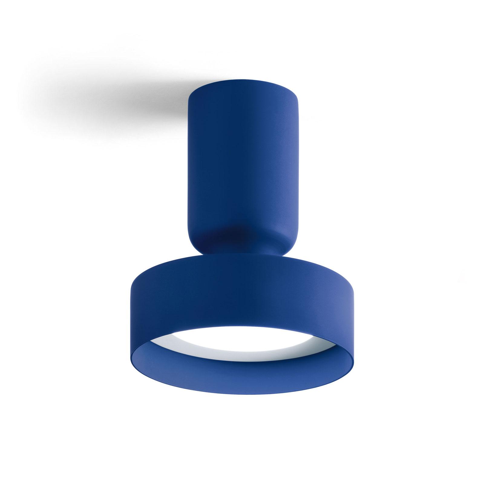 Modo Luce Hammer lampa sufitowa Ø 18 cm granatowa