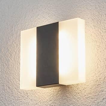 Börje - LED udendørs væglampe i firkantet form