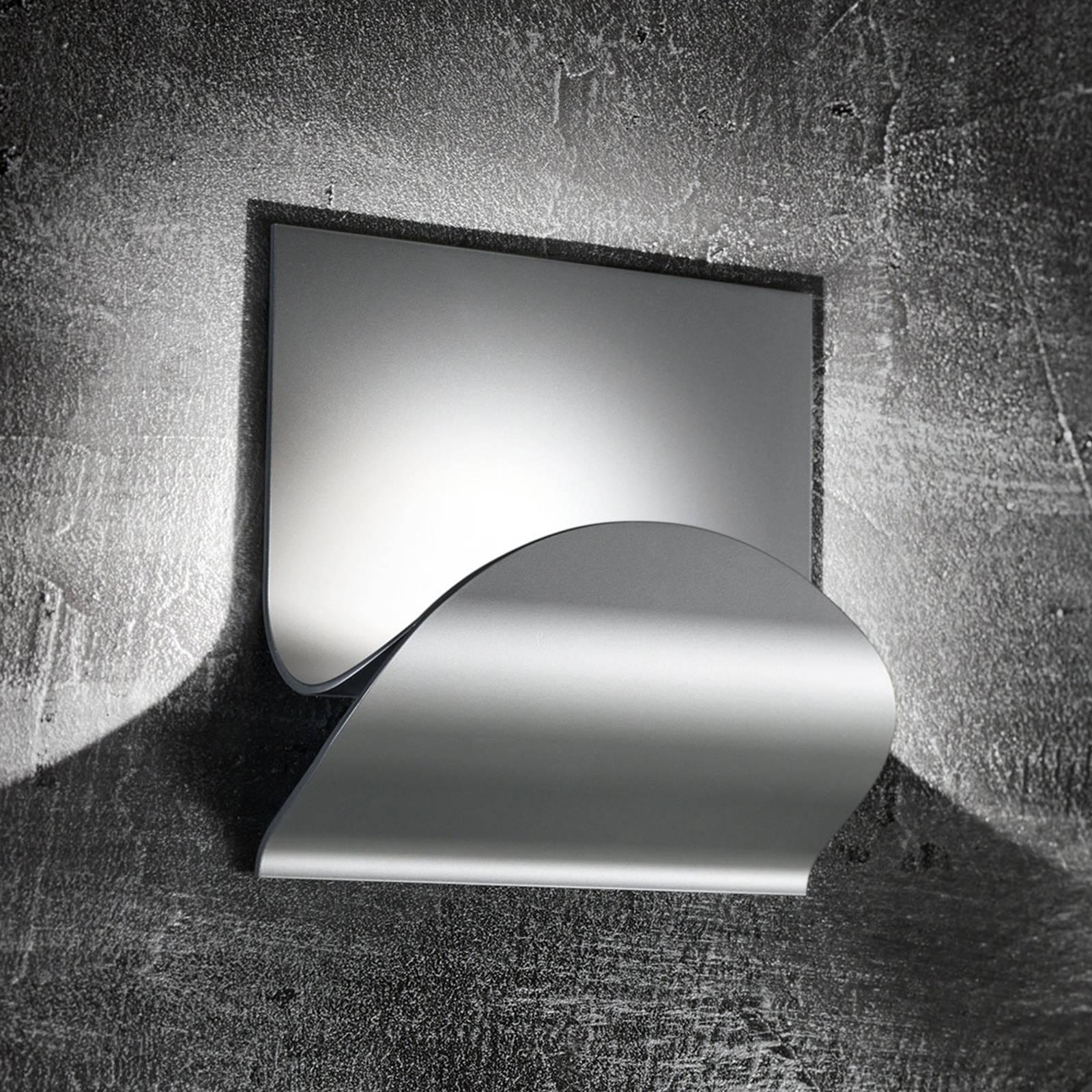 Cini&Nils Incontro applique LED argenté mat