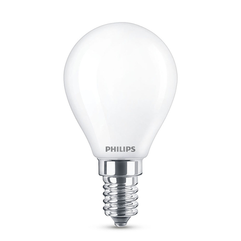Philips LED Classic WarmGlow E14 P45 4,5 W mate