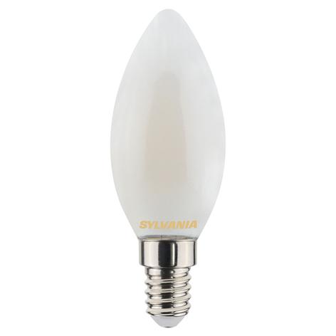 LED-Kerzenlampe E14 ToLEDo 4,5W 827 satin