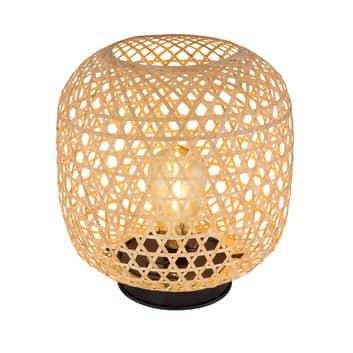 LED-solcelle-dekorasjonslampe 36671 bambus ute