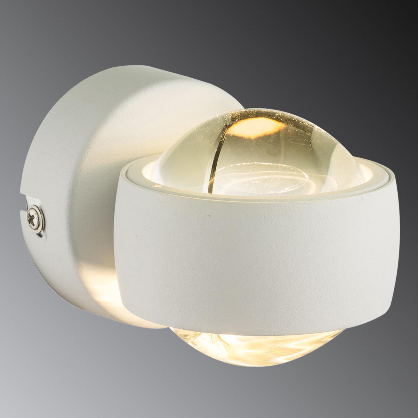 Petite applique murale LED blanche Randi