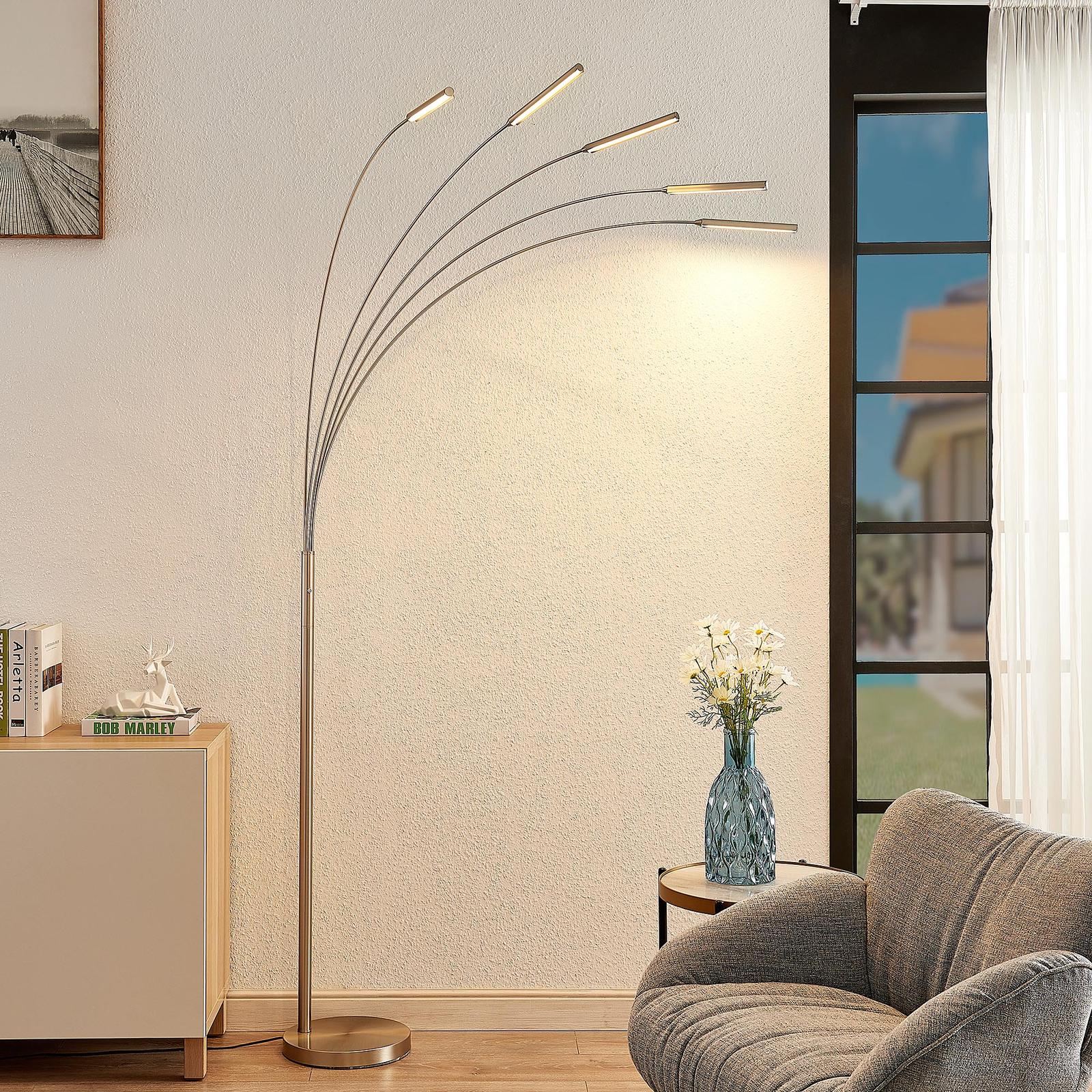 Lindby Feska lampa stojąca LED