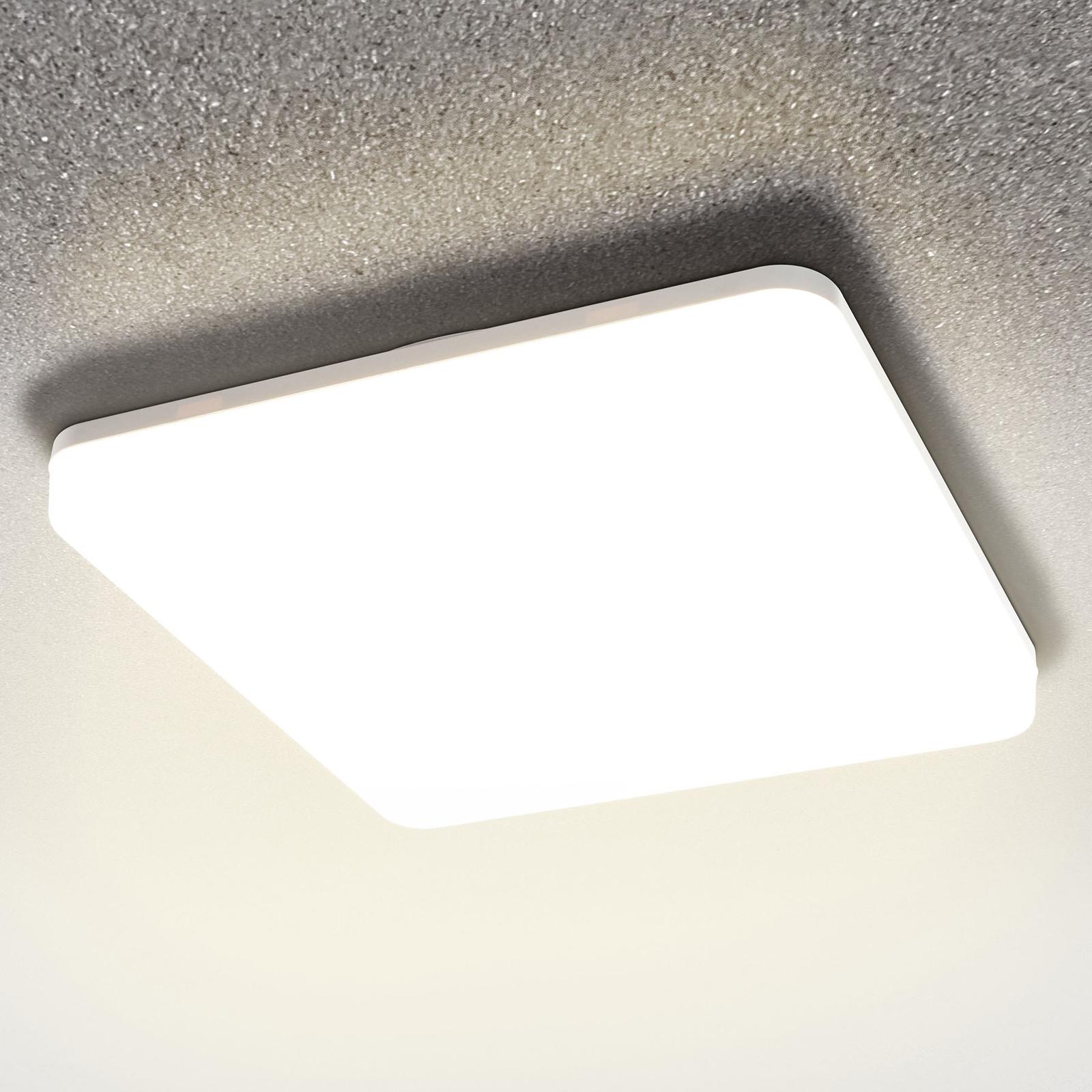 LED-sensor-taklampe Pronto, 33x33cm