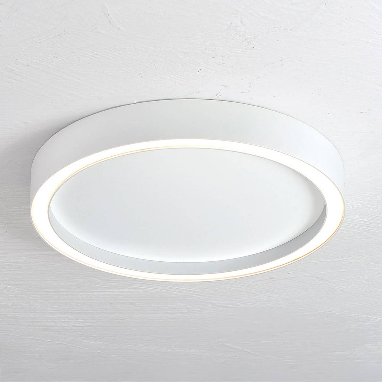 Bopp Aura LED plafondlamp Ø 55cm wit/wit