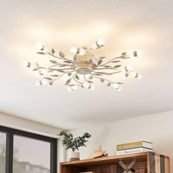 Lindby Bolonia -LED-kattovalaisin, valkoinen