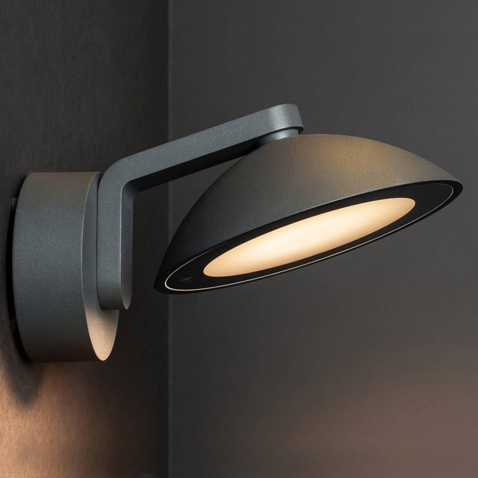 SLV Malu LED buitenwandlamp, rond