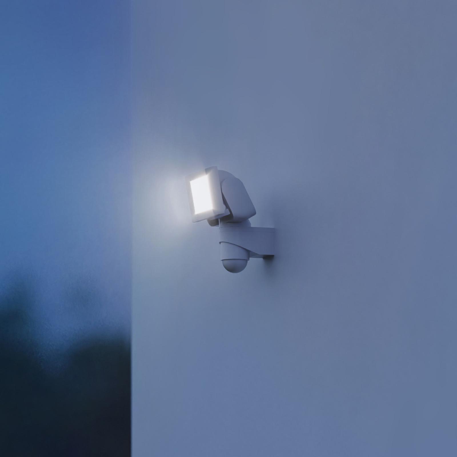 STEINEL LS 300 reflektor ścienny zewnętrzny biały