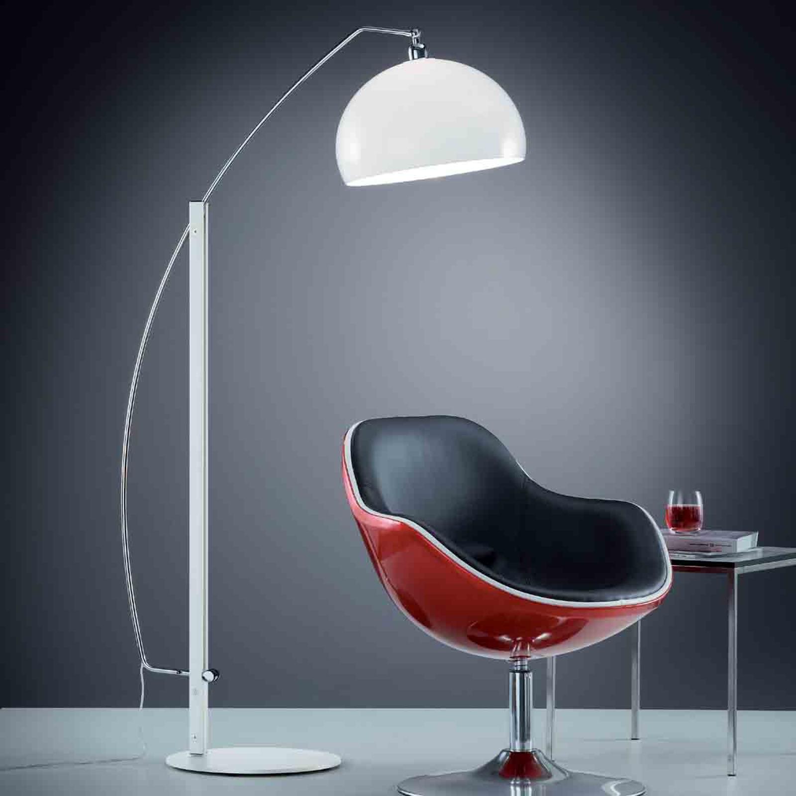 Helestra Doro - standerlampe med akrylskærm