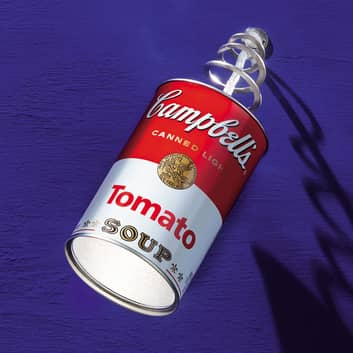 Ingo Maurer applique a LED Canned Light