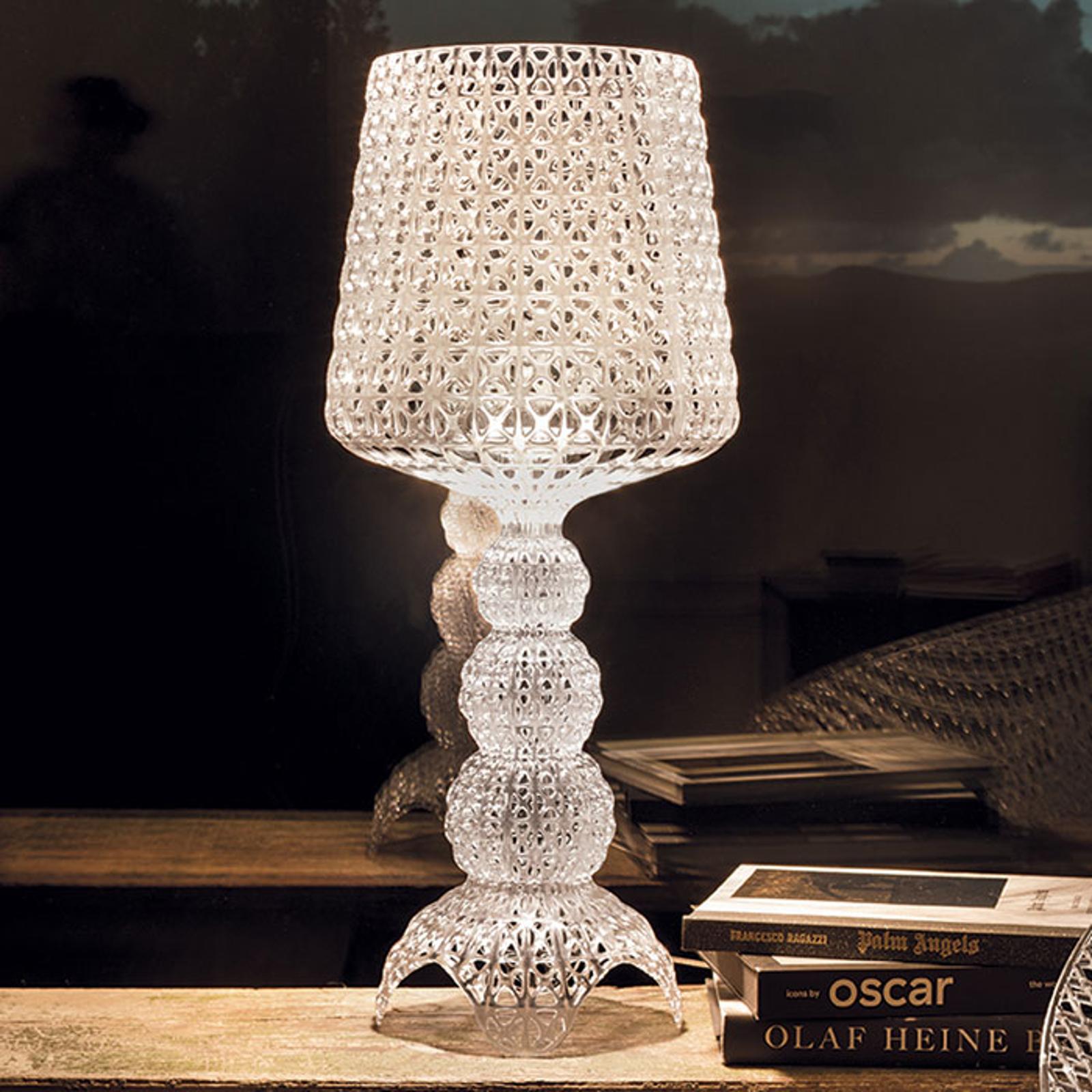 Kartell Mini Kabuki - LED-Tischlampe, transparent
