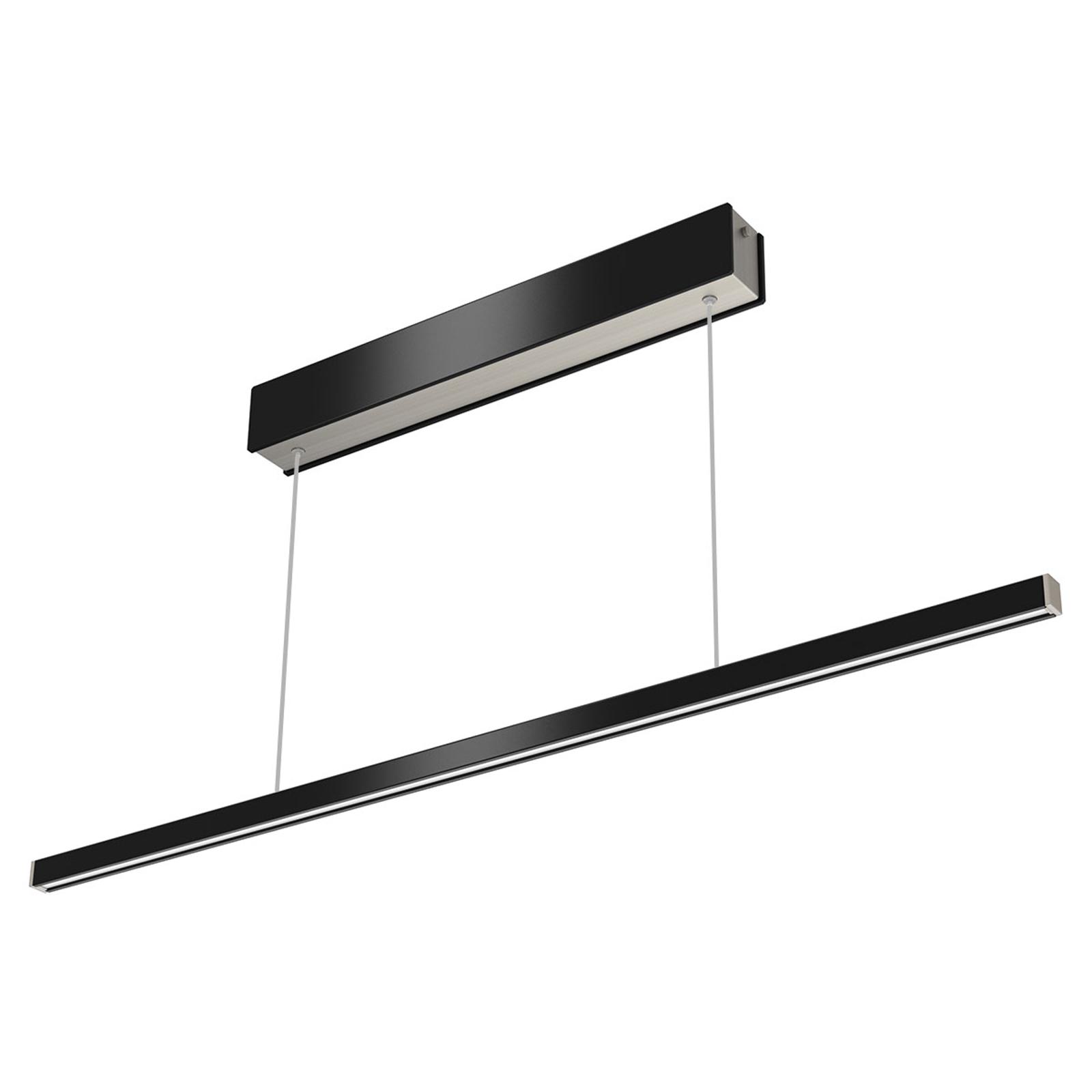 Zdalnie sterowana lampa wisząca LED Orix, cz. 90cm