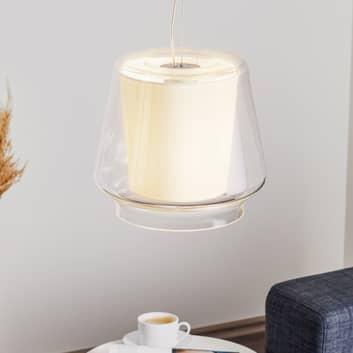 Casablanca Aleve S - lampada sospensione di vetro