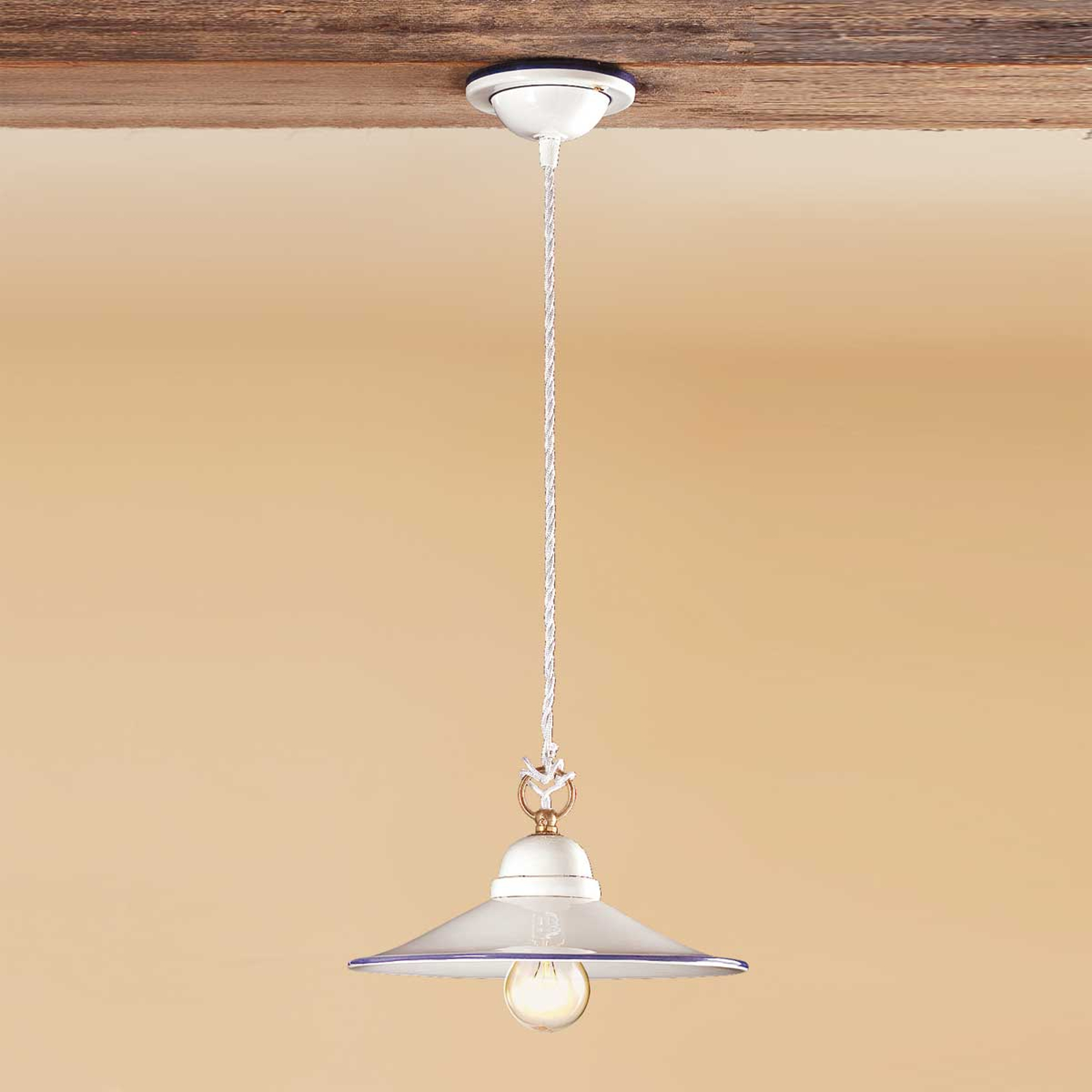 Závesná lampa PIATTO z keramiky_2013008X_1