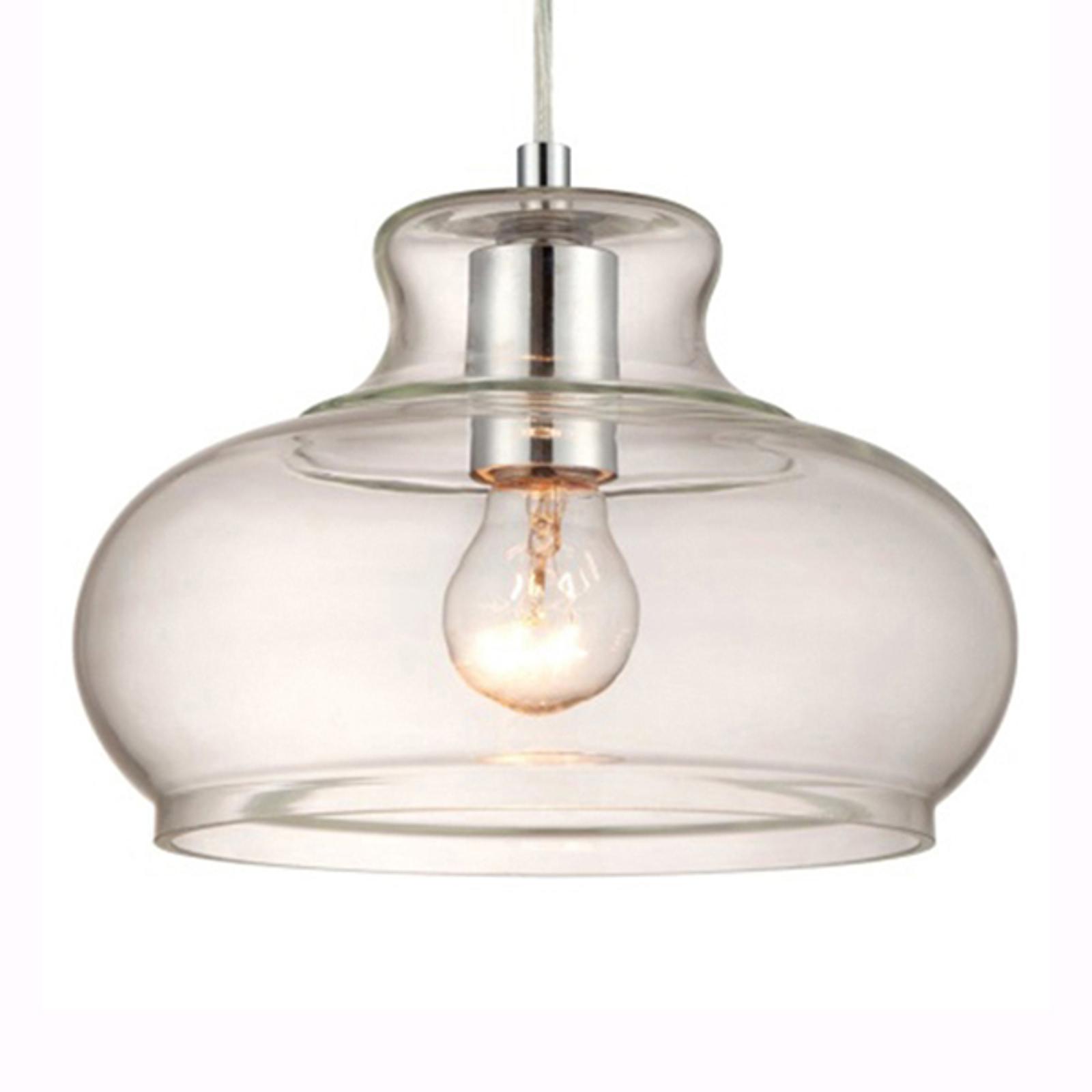 Westinghouse lampa wisząca 6345840 szklany klosz