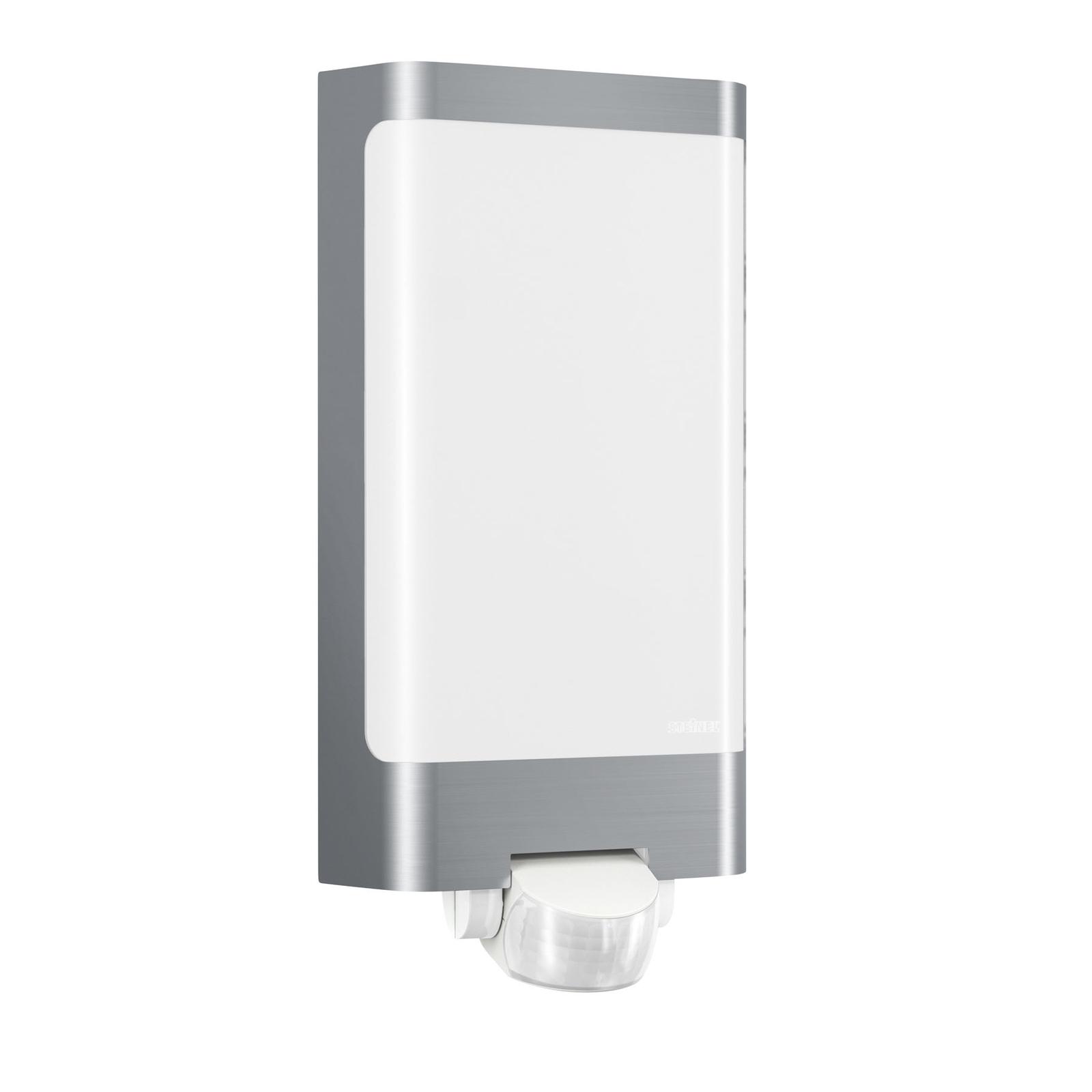 STEINEL L 240 LED Wandleuchte Sensor, edelstahl