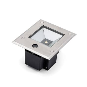 Dale LED-markspotlight 9 W med skymningssensor