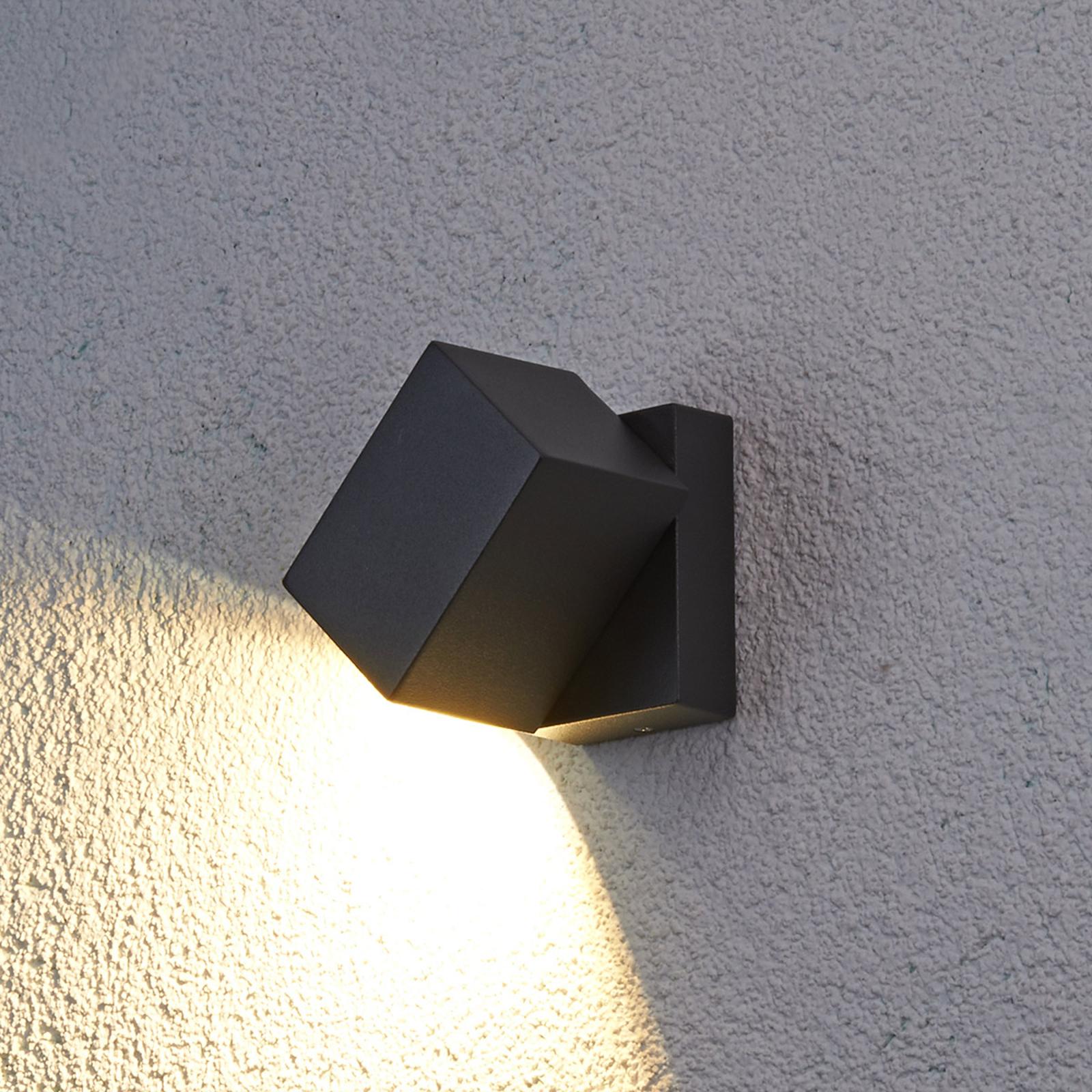 Zewnętrzna lampa ścienna LED Lorik