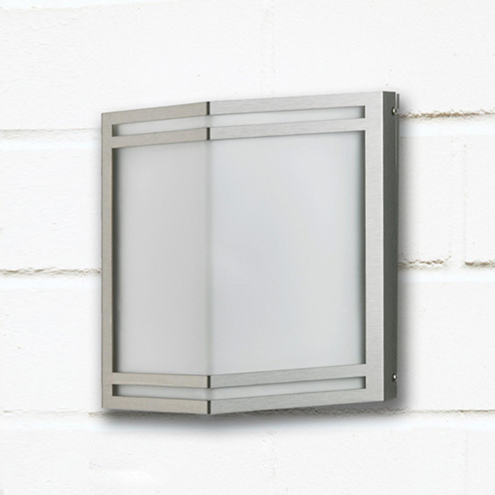 Applique LED da esterni Dobrin di acciaio inox