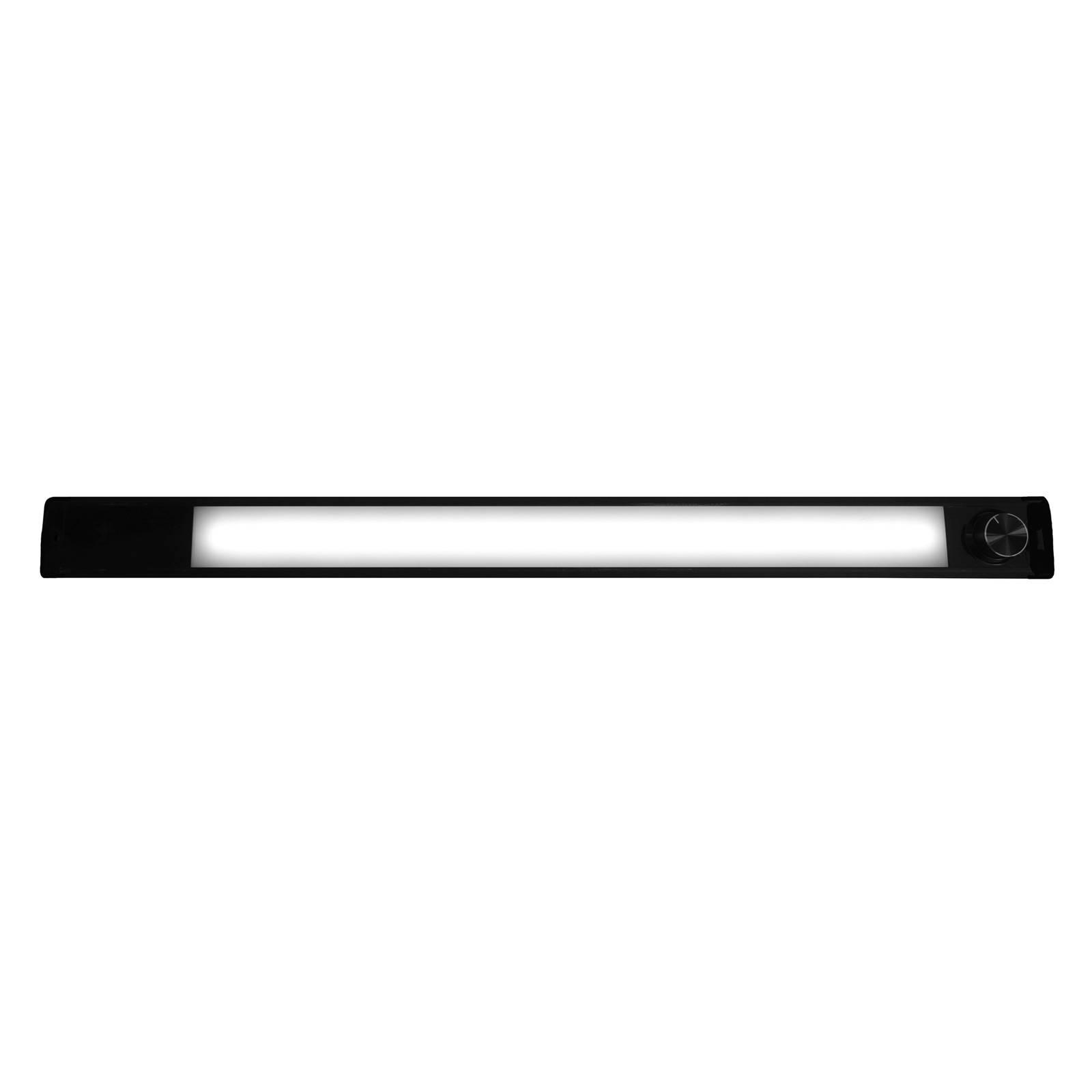 Lampada LED da mobili Calina 60 Switch Tone, nera